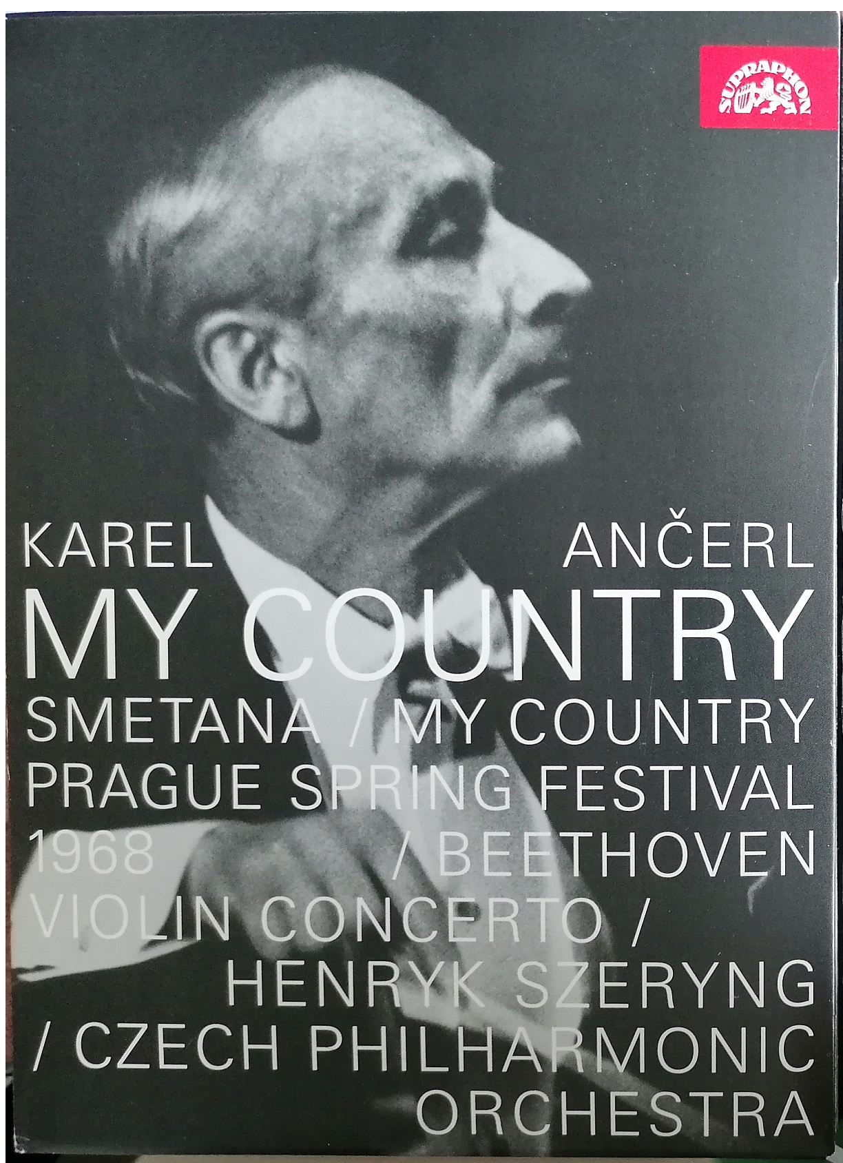 Karel Ančerl - My country -  DVD digipack