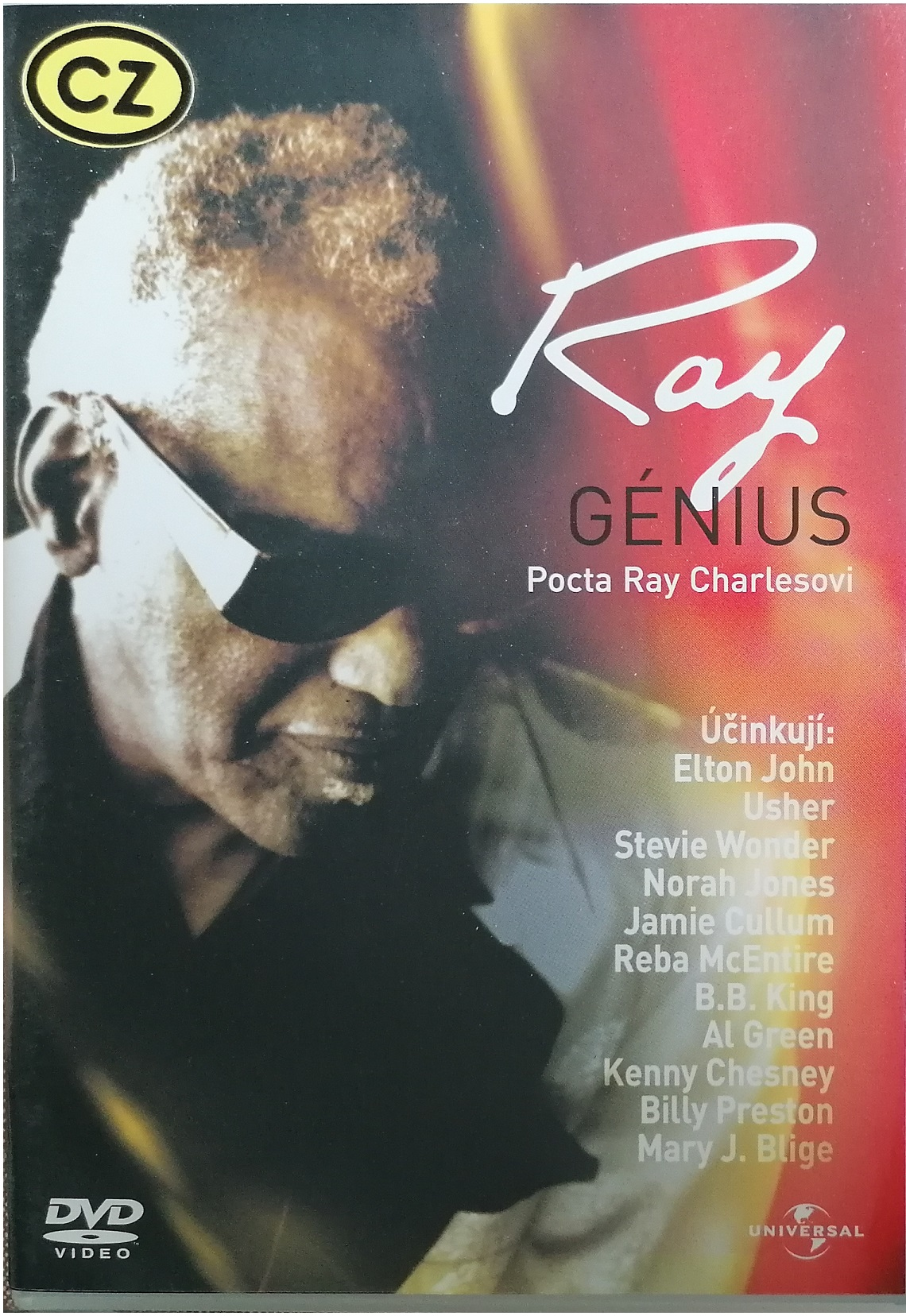 Ray Génius - DVD plast