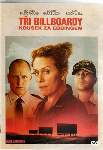 Tři billboardy kousek za Ebbingem ( plast ) DVD