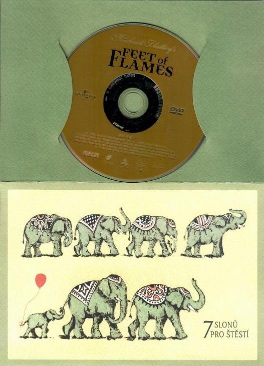 Feet of Flames ( dárková obálka ) DVD