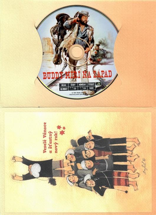 Buddy míří na západ ( dárkový papír obal ) - DVD