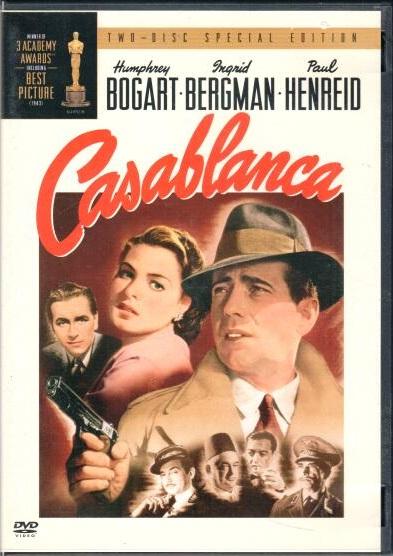 Casablanca - 2 DVD plast - bazarové zboží