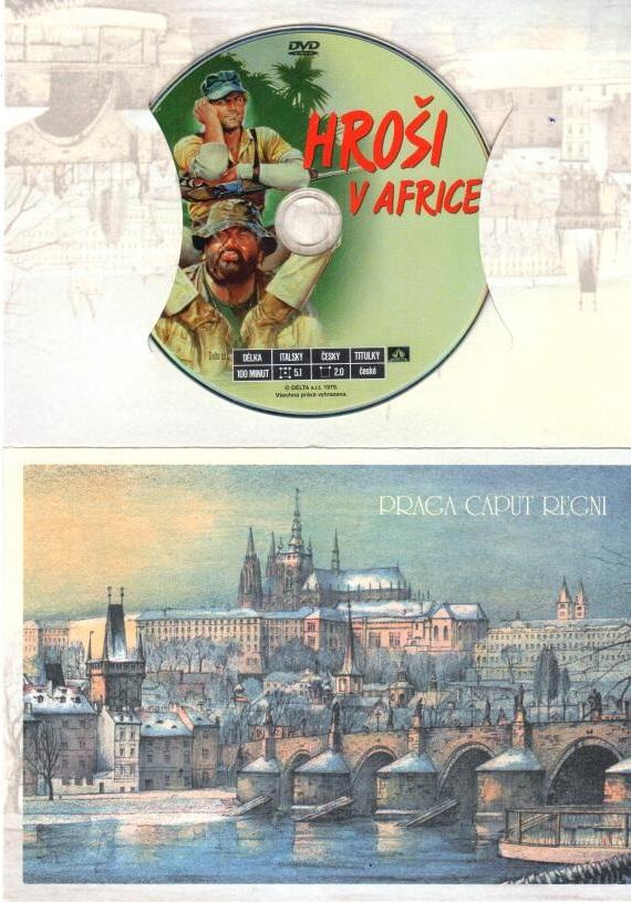 Hroši v Africe - DVD - Dárkový obal
