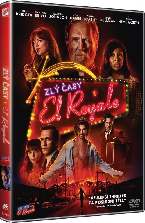 Zlý časy v El Royale - DVD plast
