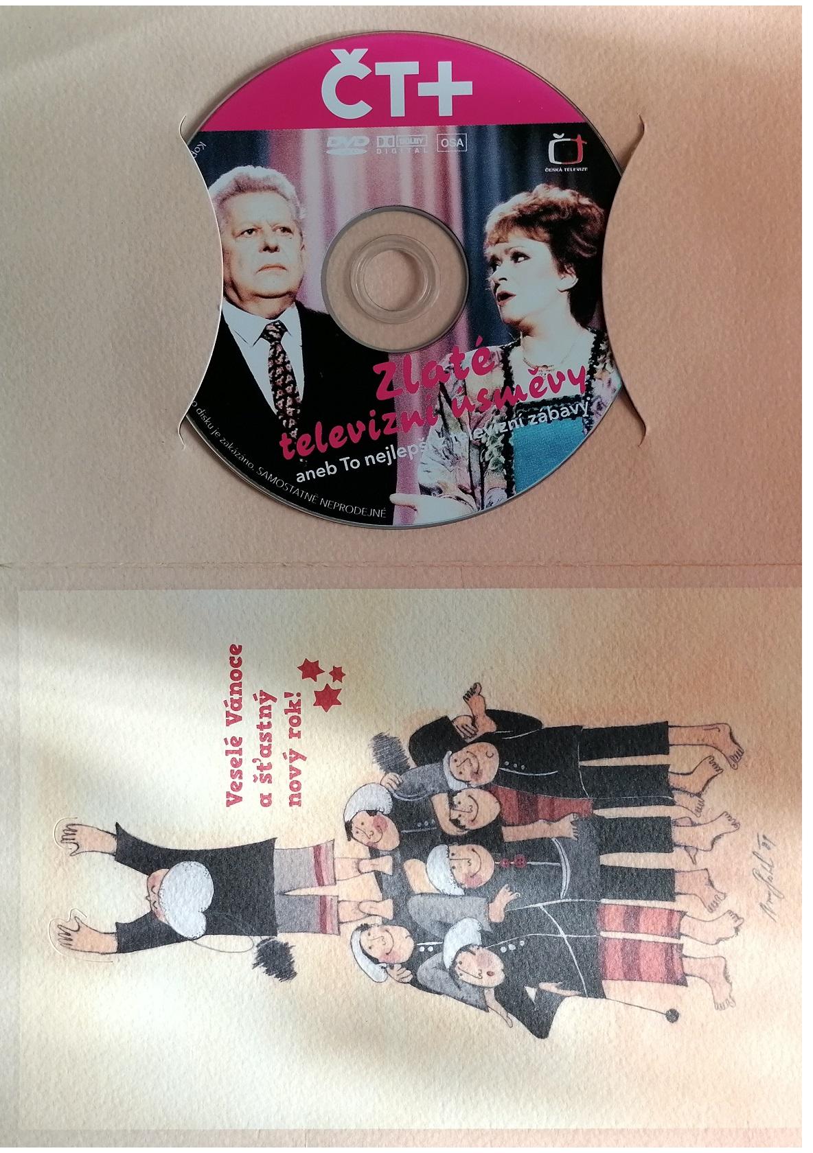 Zlaté televizní úsměvy aneb To nejlepší z televizní zábavy - DVD - dárková obálka