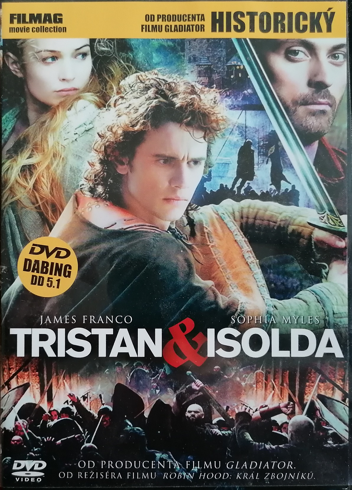 Tristan a Isolda - DVD plast