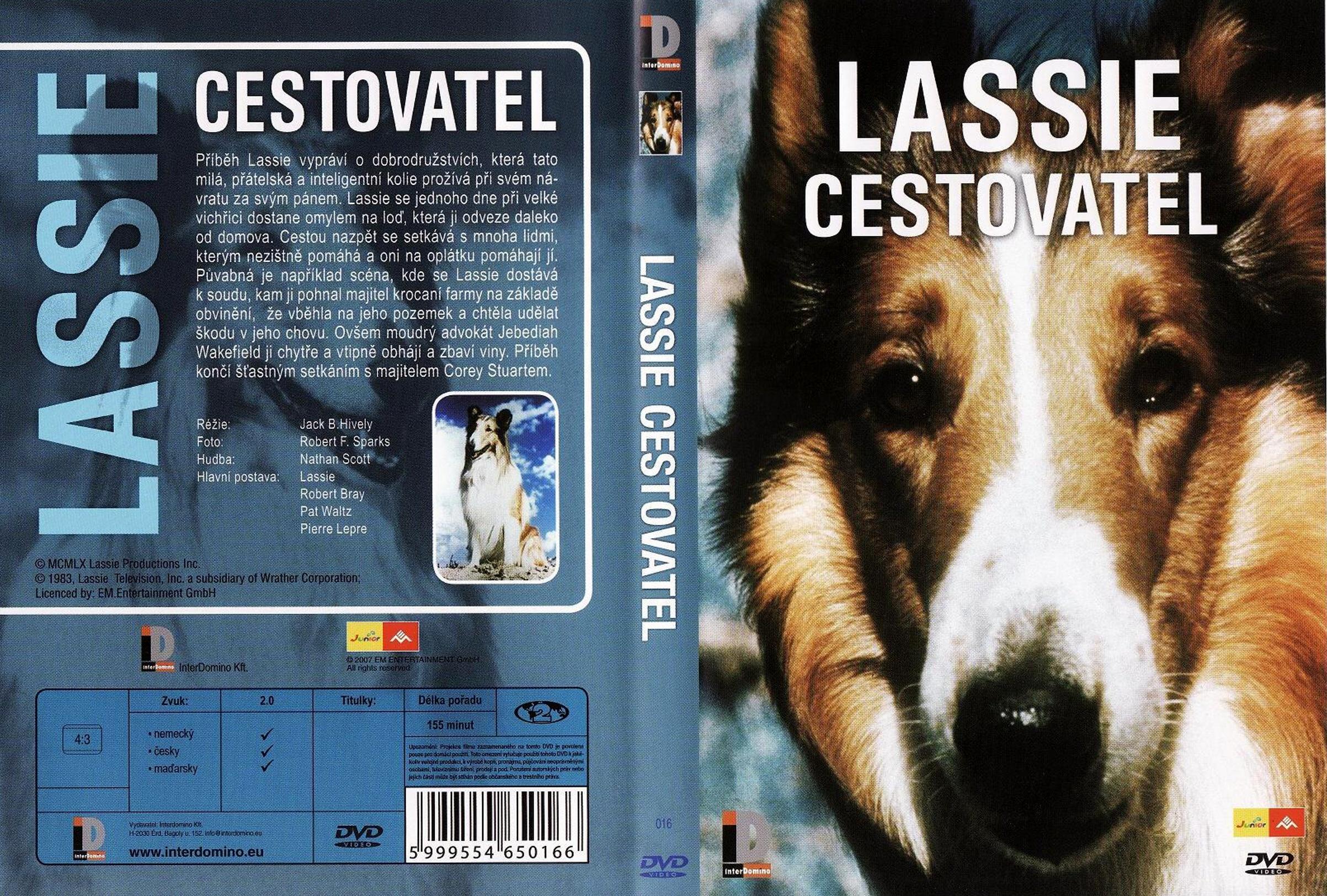 Lassie cestovatel - DVD plast
