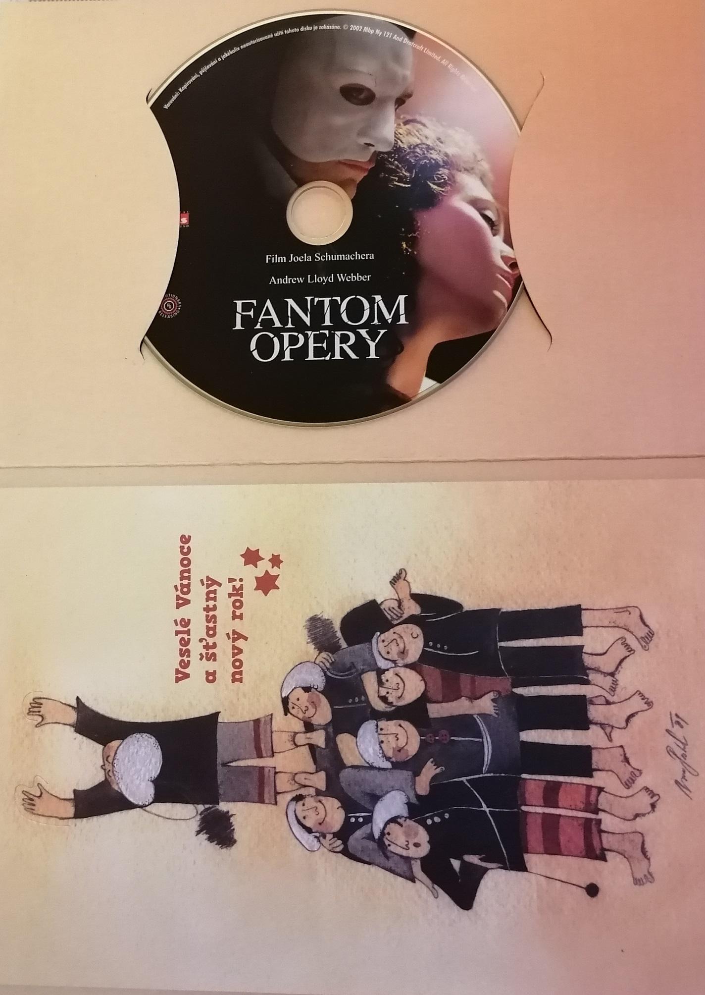 Fantom opery - DVD - dárková obálka