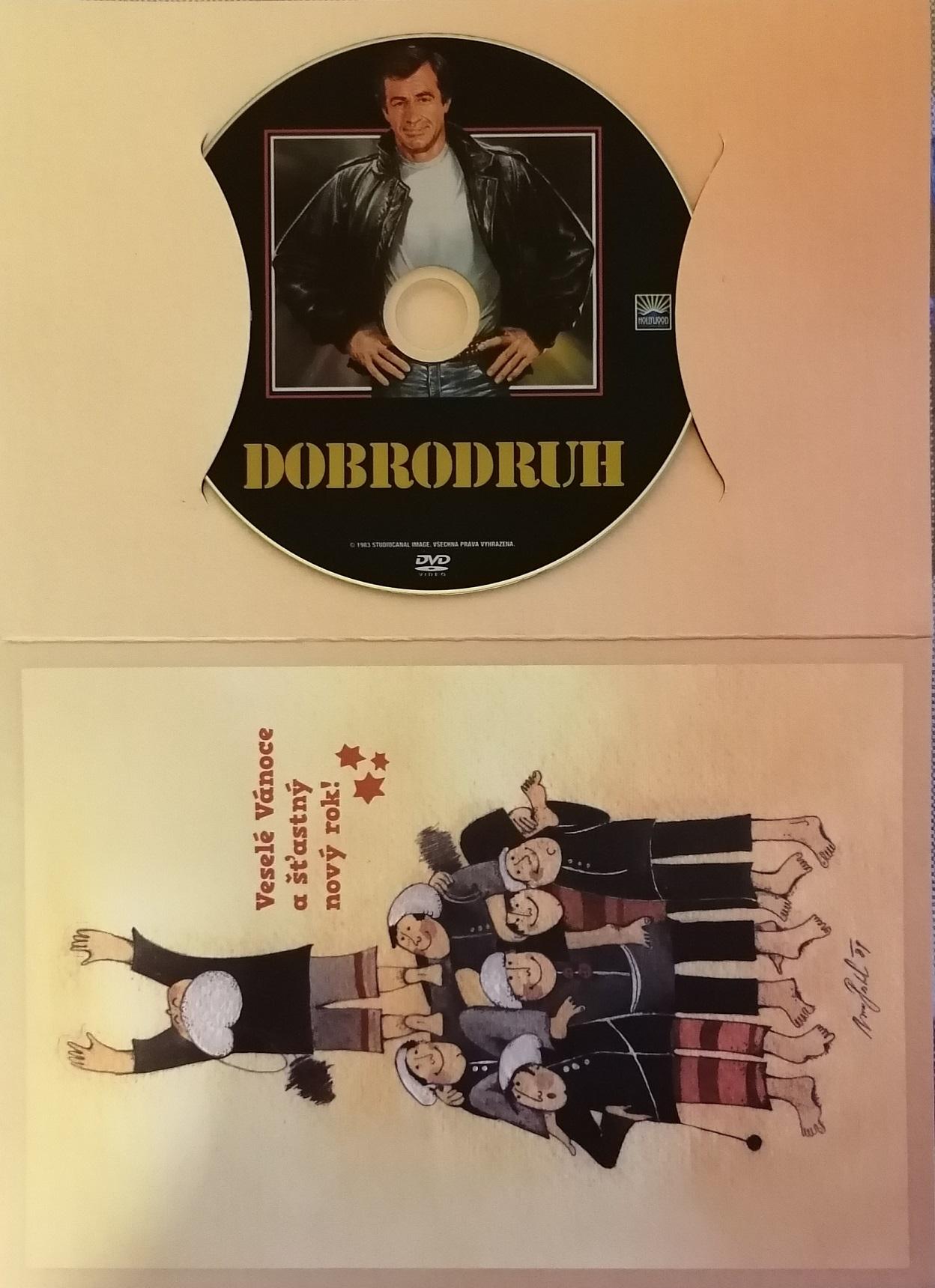 Dobrodruh (Belmondo ) - DVD - dárková obálka