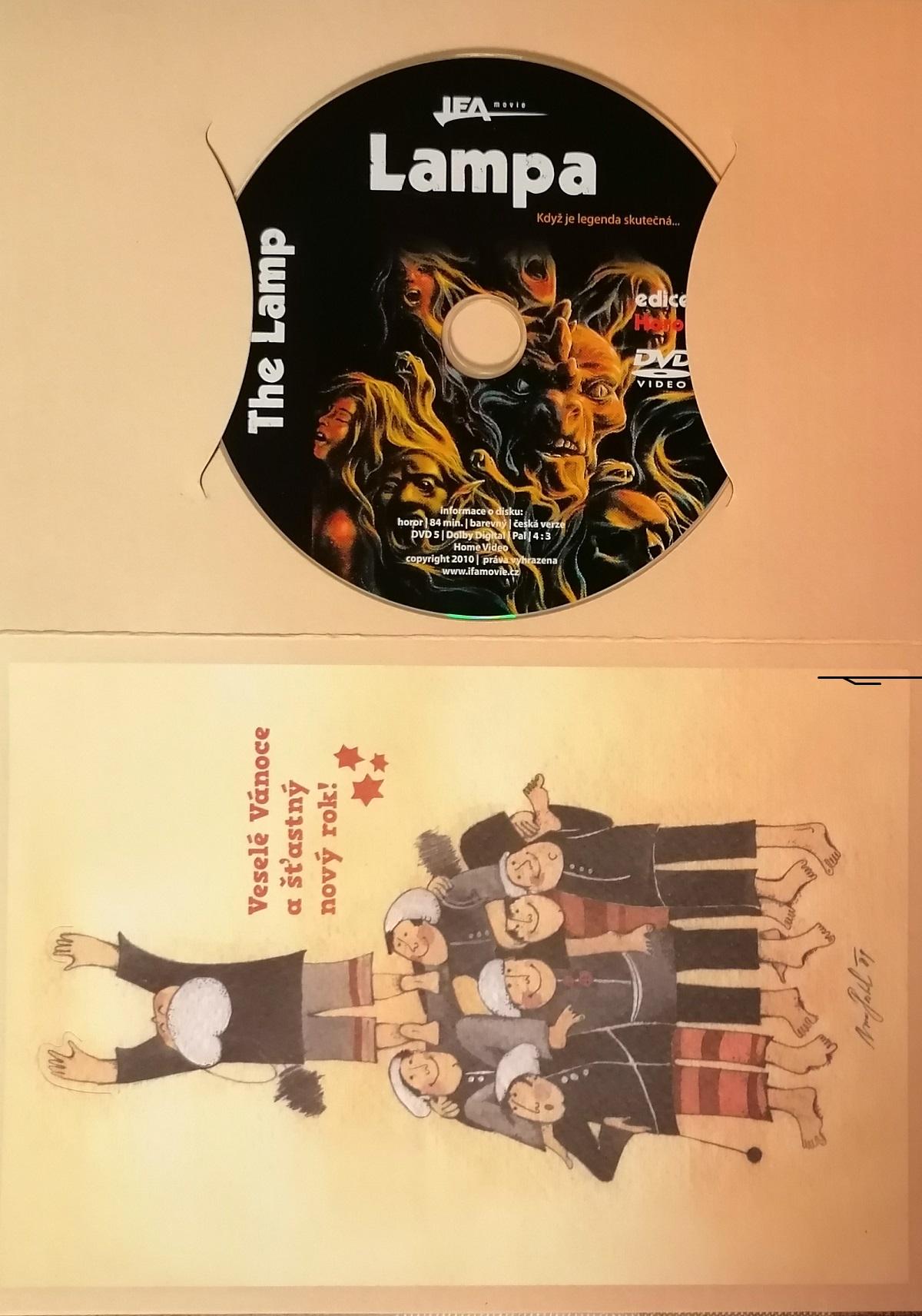 Lampa - DVD - dárková obálka