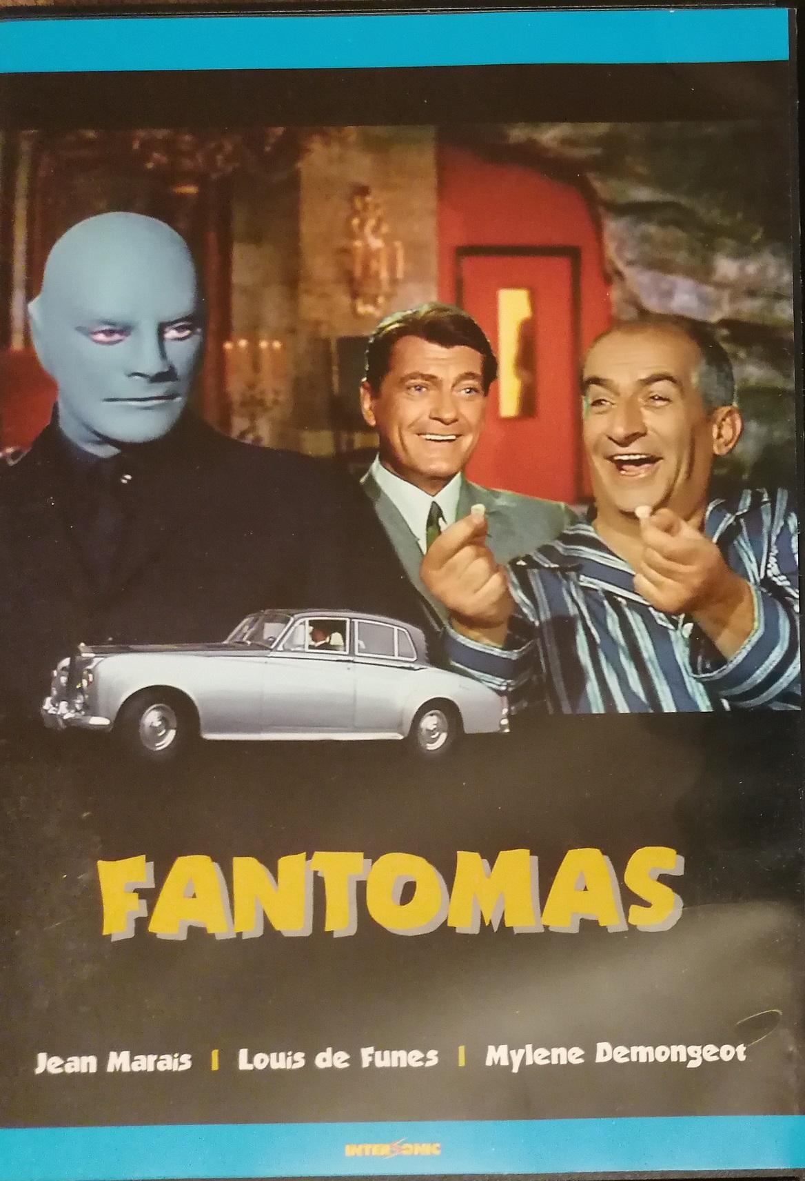Fantomas - DVD plast
