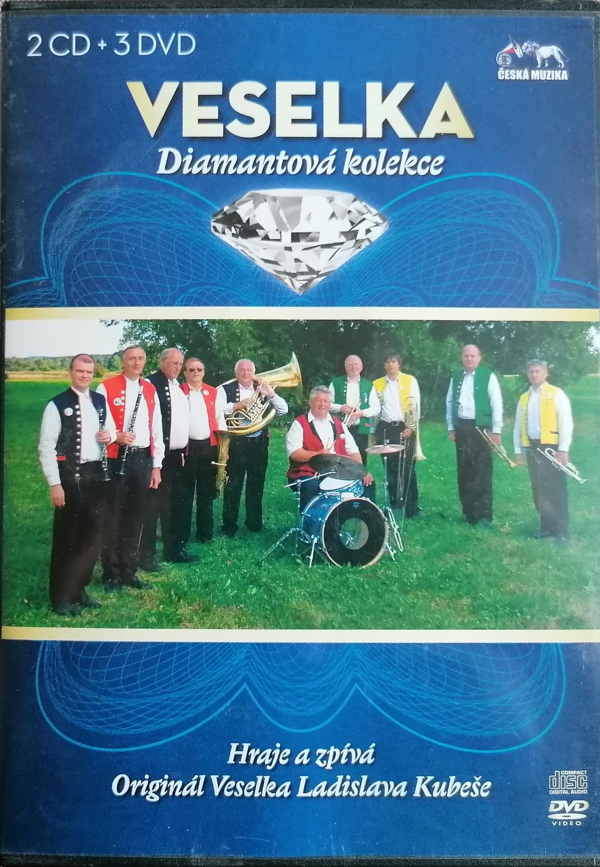 Veselka - Diamantová kolekce - 2CD +3DVD