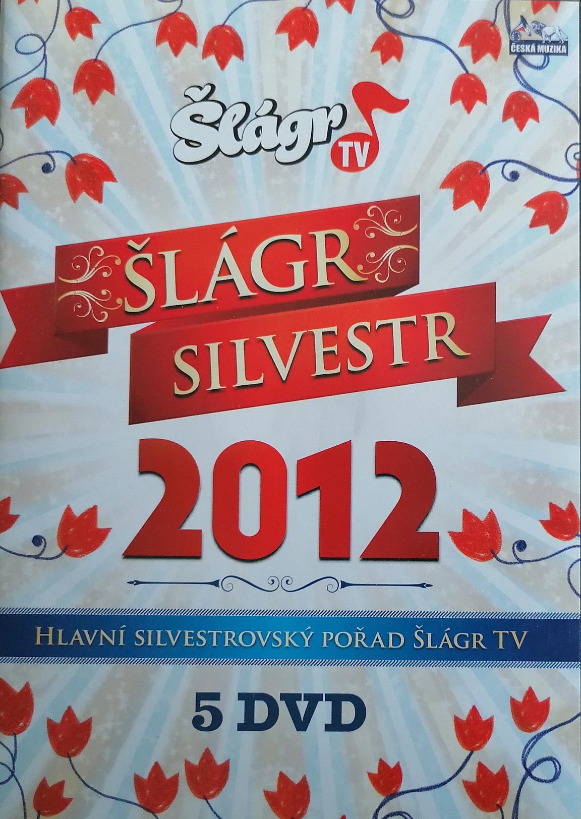 Šlágr Silvestr 2012 - 5 DVD