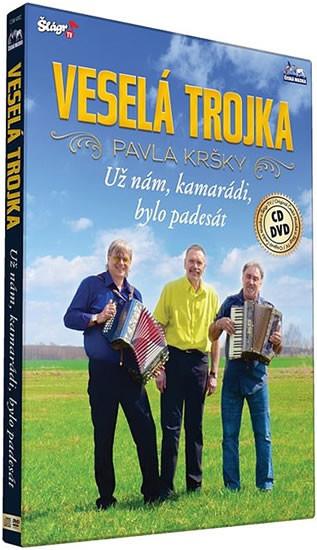 Veselá trojka Pavla Kršky - Už nám, kamarádi, bylo padesát - DVD + CD plast