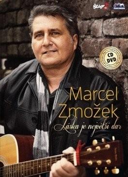 Marcel Zmožek - Láska je největší dar - DVD + CD plast