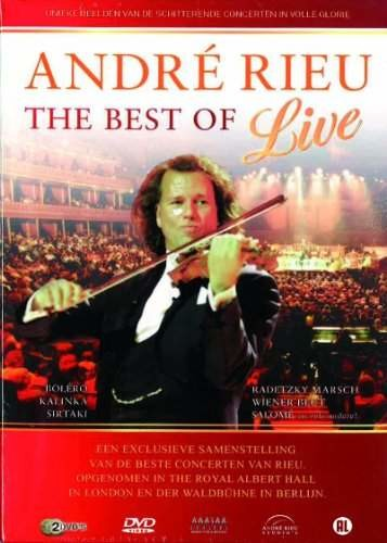 André Rieu - The best of Live - DVD plast