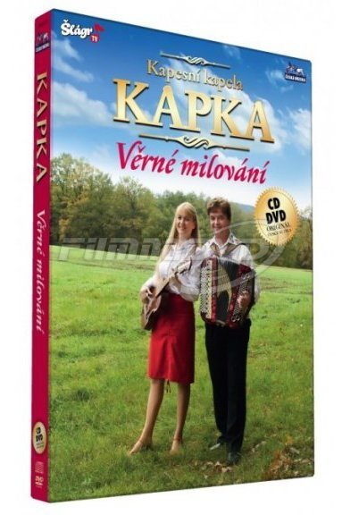 Kapesní kapela Kapka - Věrné milování - DVD + CD plast