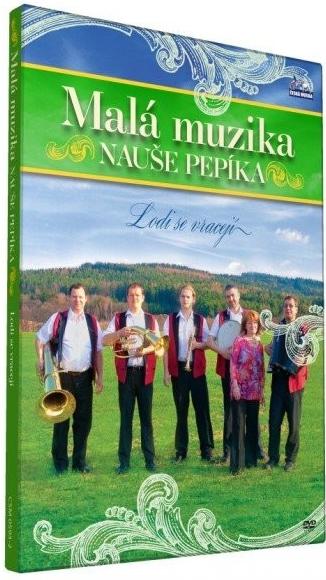Malá muzika Nauše Pepíka - Lodi se vracejí - DVD plast