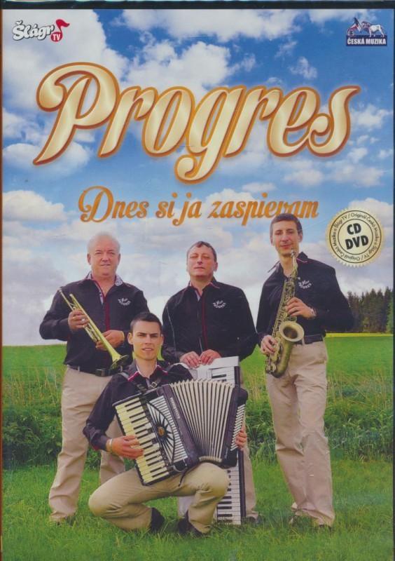 Progres - Dnes si ja zaspievam - DVD + CD plast
