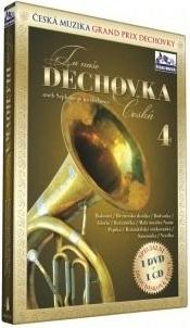 Ta naše dechovka Česká - aneb sejdeme se na dechovce - DVD 4 + CD 4 plast