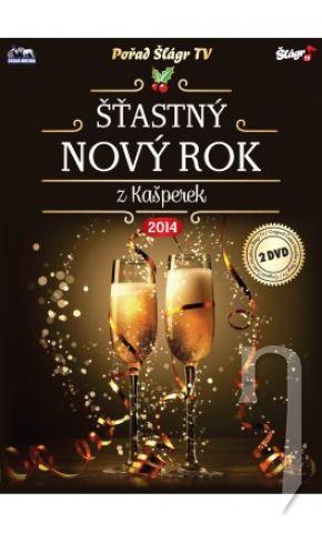 Šťastný Nový rok z Kašperek 2014 - 2 x DVD plast