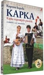 Kapesní kapela Kapka - Kapka vojenských písniček - DVD + CD plast
