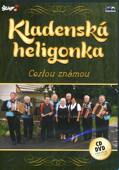 Kladenská heligonka - Cestou známou - DVD + CD plast