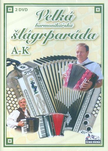 Velká harmonikářská šlágrparáda A-K - 2 x DVD plast