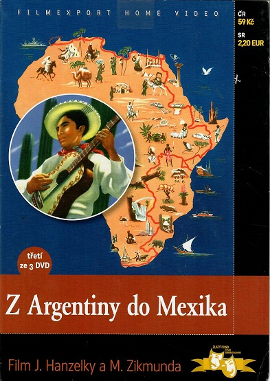Z Argentiny do Mexika - DVD 3 ( pošetka )