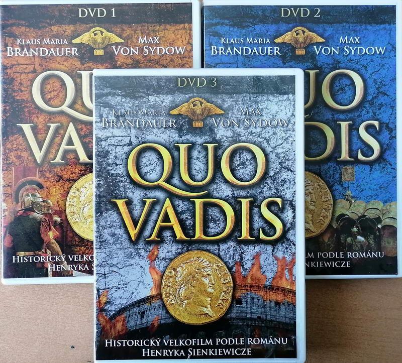 Kolekce Quo Vadis - 3 DVD plast