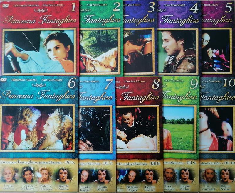 Kolekce Princezna Fantaghiro - 10 DVD ( pošetka)