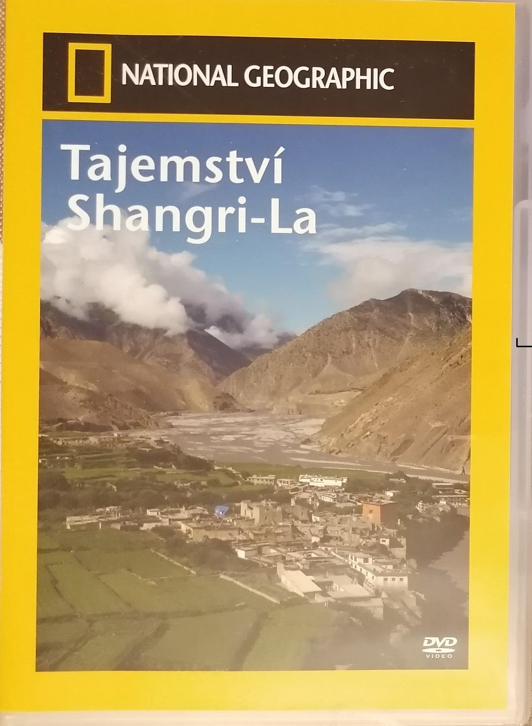 Tajemství Shangri-La ( National Geoghraphic) - DVD plast