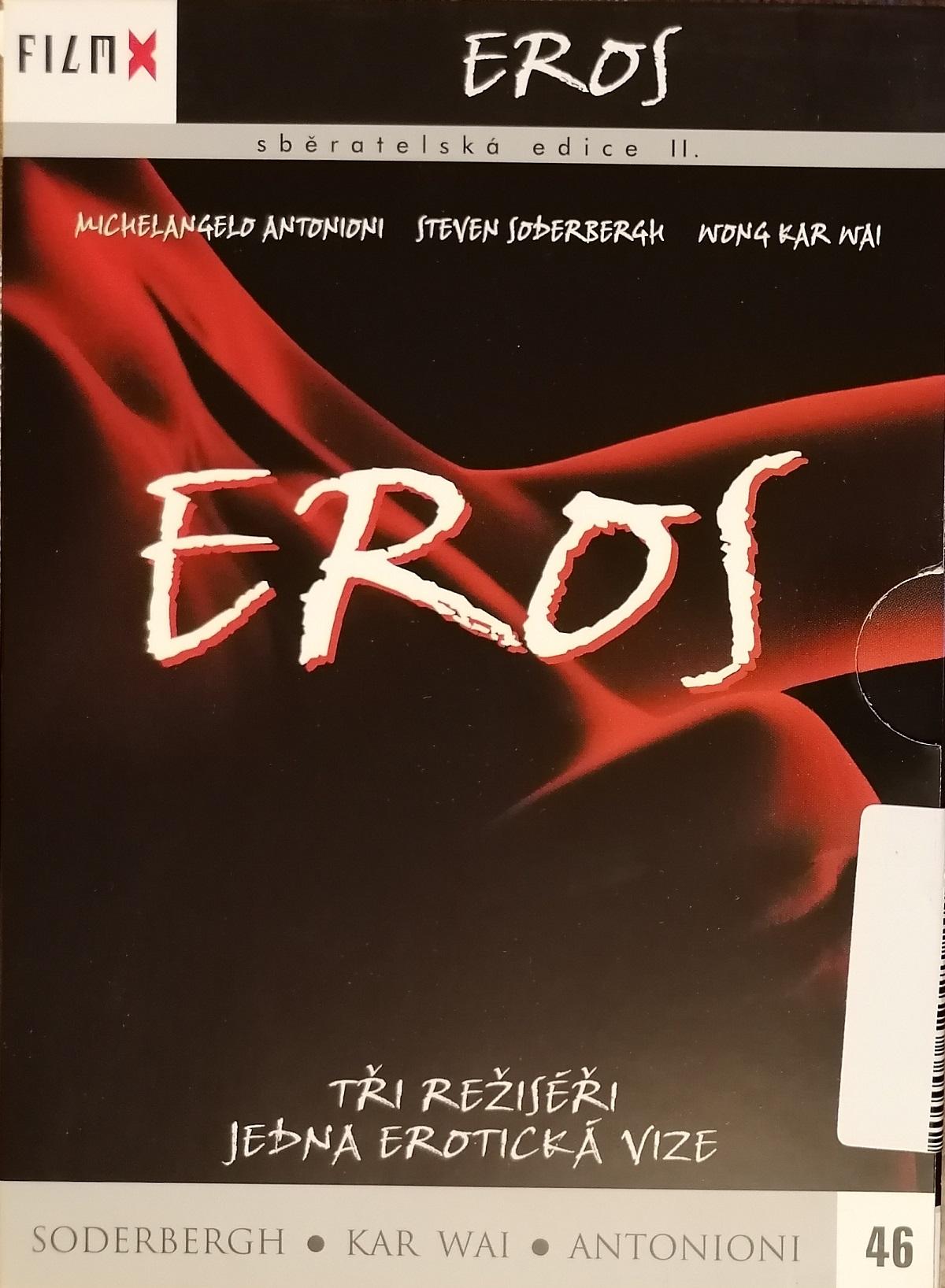 Eros - DVD digipack