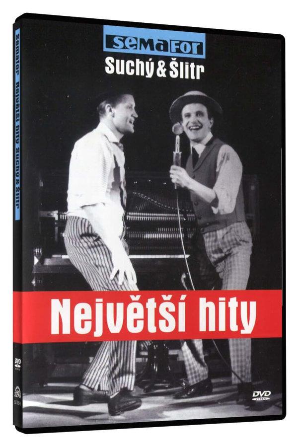Semafor - Suchý a Šlitr - Největší hity - DVD plast