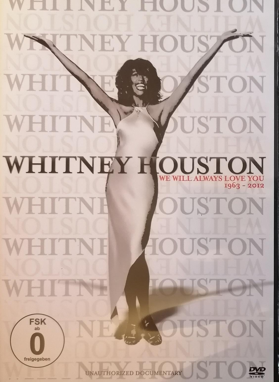 Whitney Houston - We will always love you 1963-2012 - DVD plast