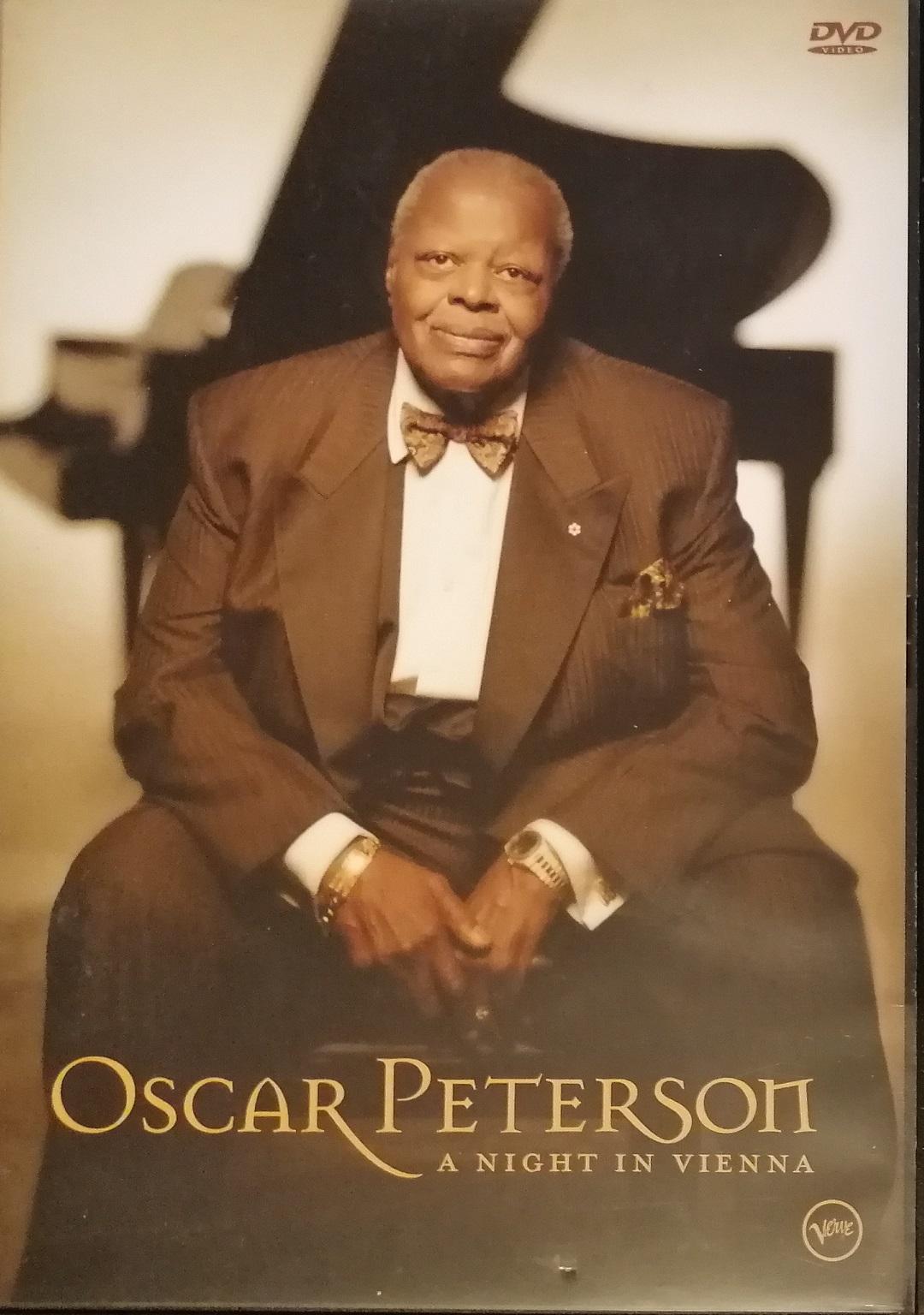 Oscar Peterson - A night in Vienna - DVD plast