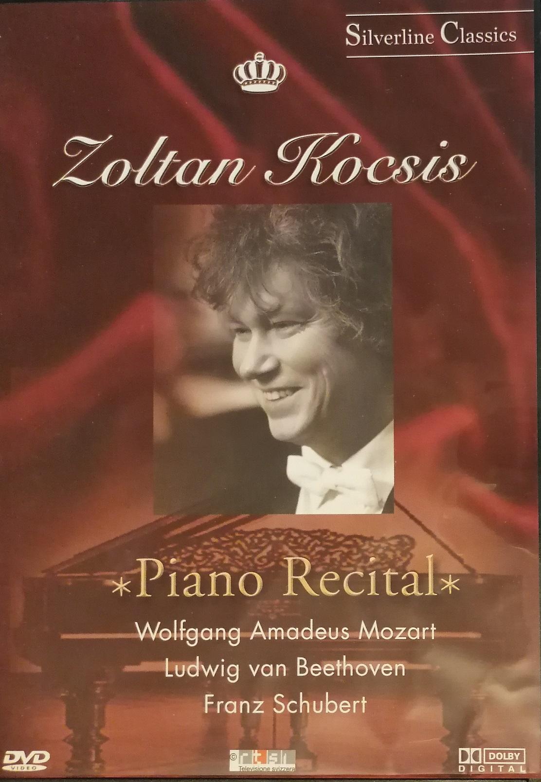 Zoltan Kocsis - Piano Recital - DVD plast
