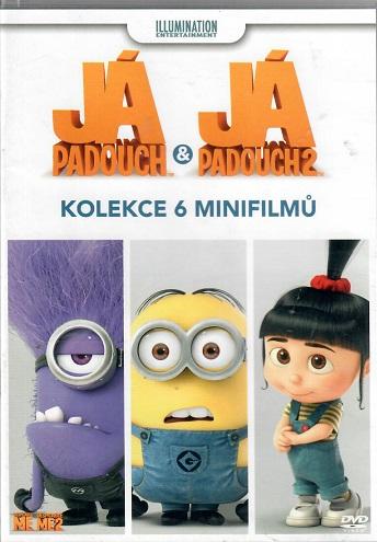 Já padouch & Já padouch 2: Kolekce 6 minifilmů ( plast ) DVD