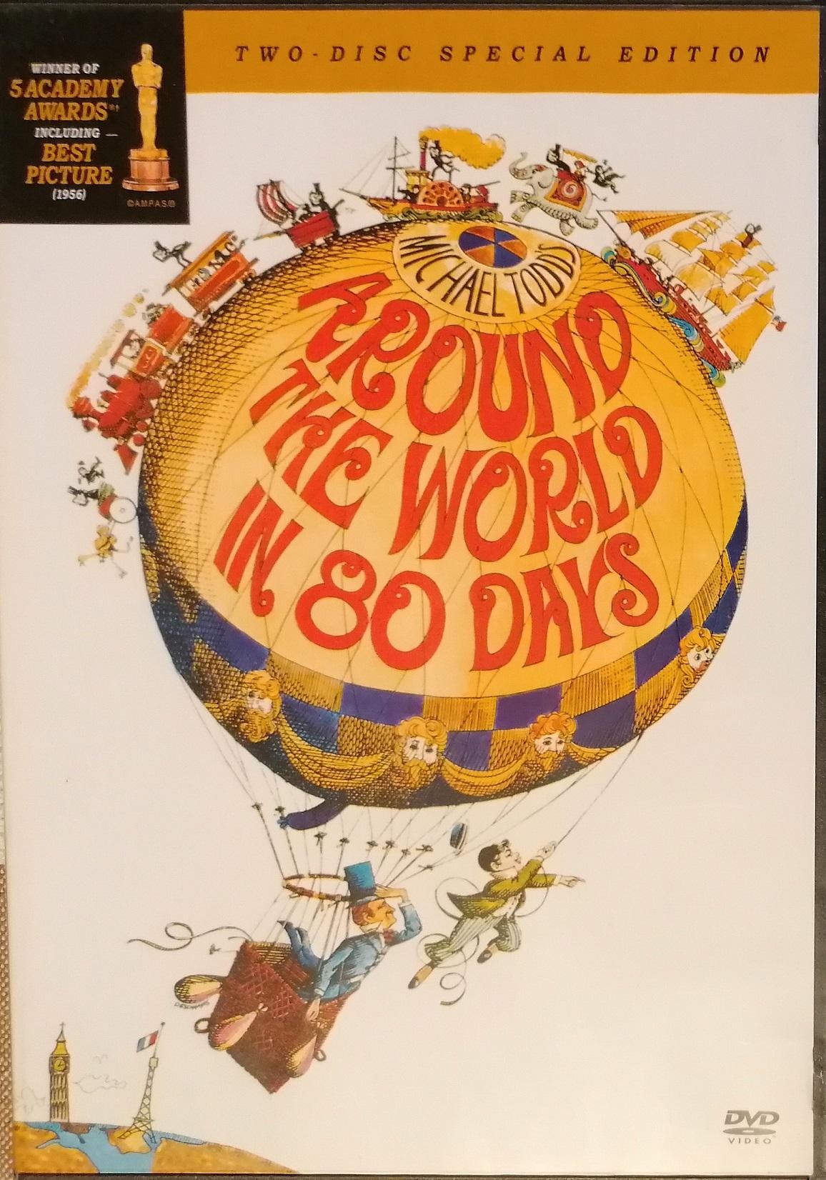 Around the World in 80 Days ( Cesta kolem světa za 80 dní ) - 2 DVD plast