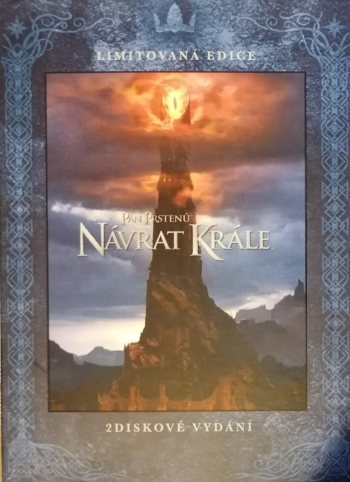 Pán prstenů -Návrat krále - 2 DVD plast