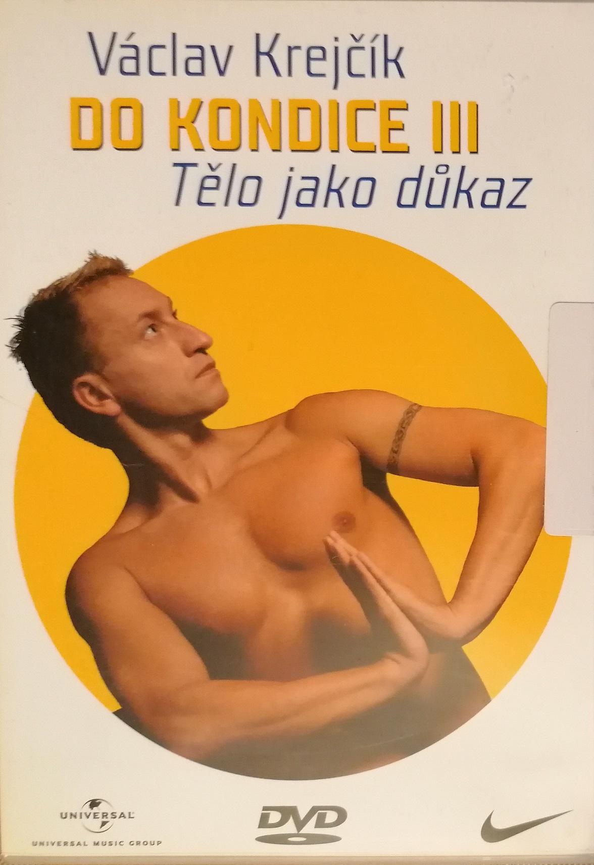 Václav Krejčík - Do kondice III - Tělo jako důkaz - DVD plast