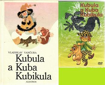Kubula a Kuba Kubikula - Vladislav Vančura ( 1x kniha bazarová + 1x DVD plast )