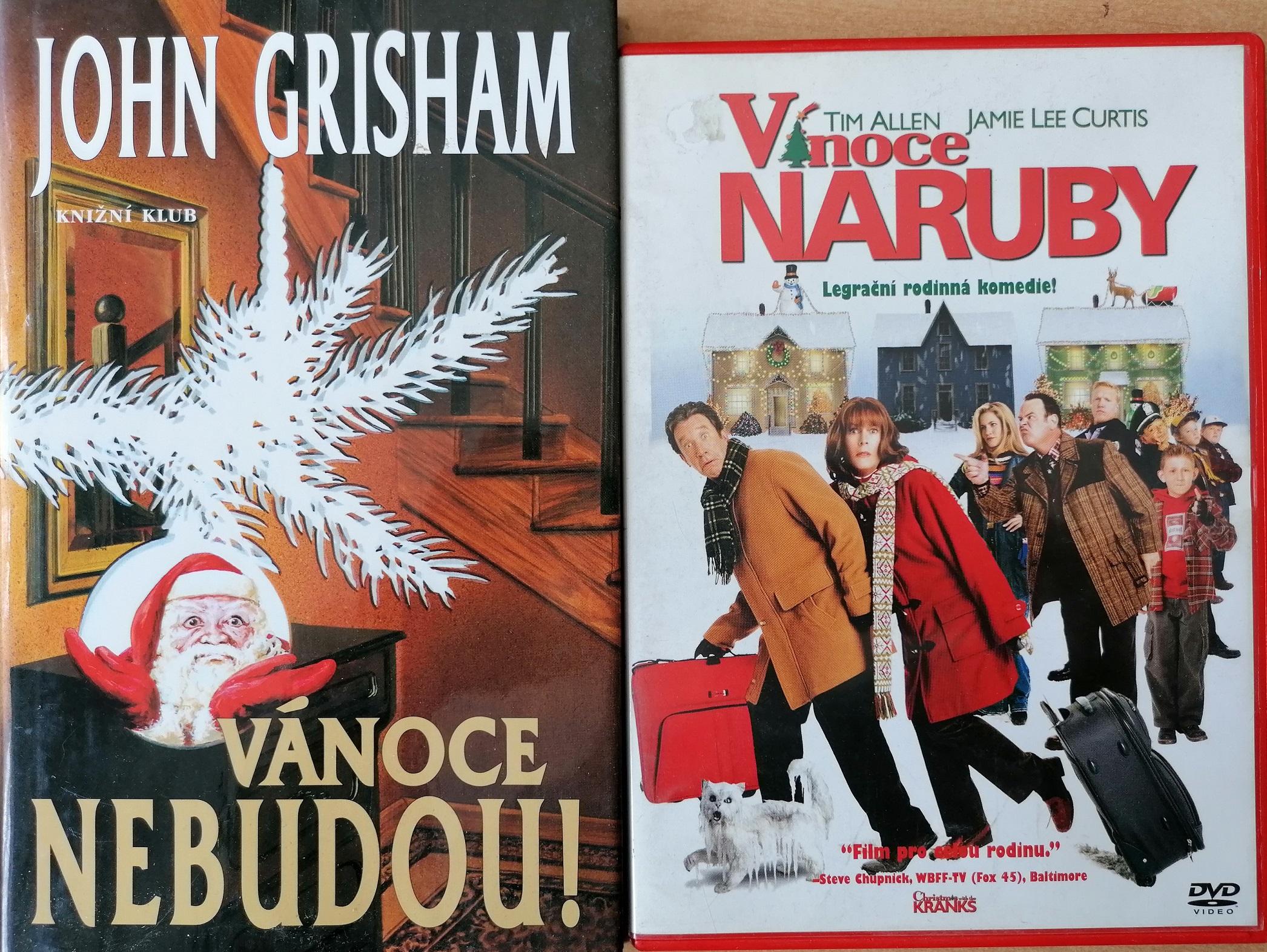 Vánoce nebudou ! - John Grisham + DVD Vánoce naruby - bazarové zboží