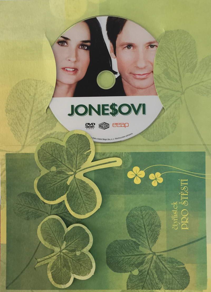 Jonesovi - DVD /dárkový obal/