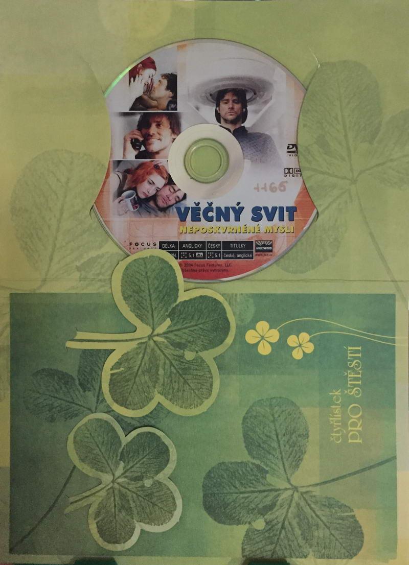 Věčný svit neposkvrněné mysli - DVD /dárkový obal/