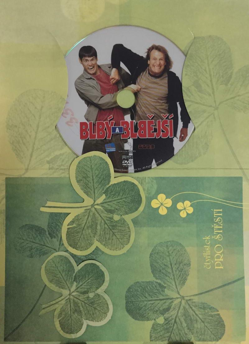 Blbý a blbější - DVD /dárkový obal/