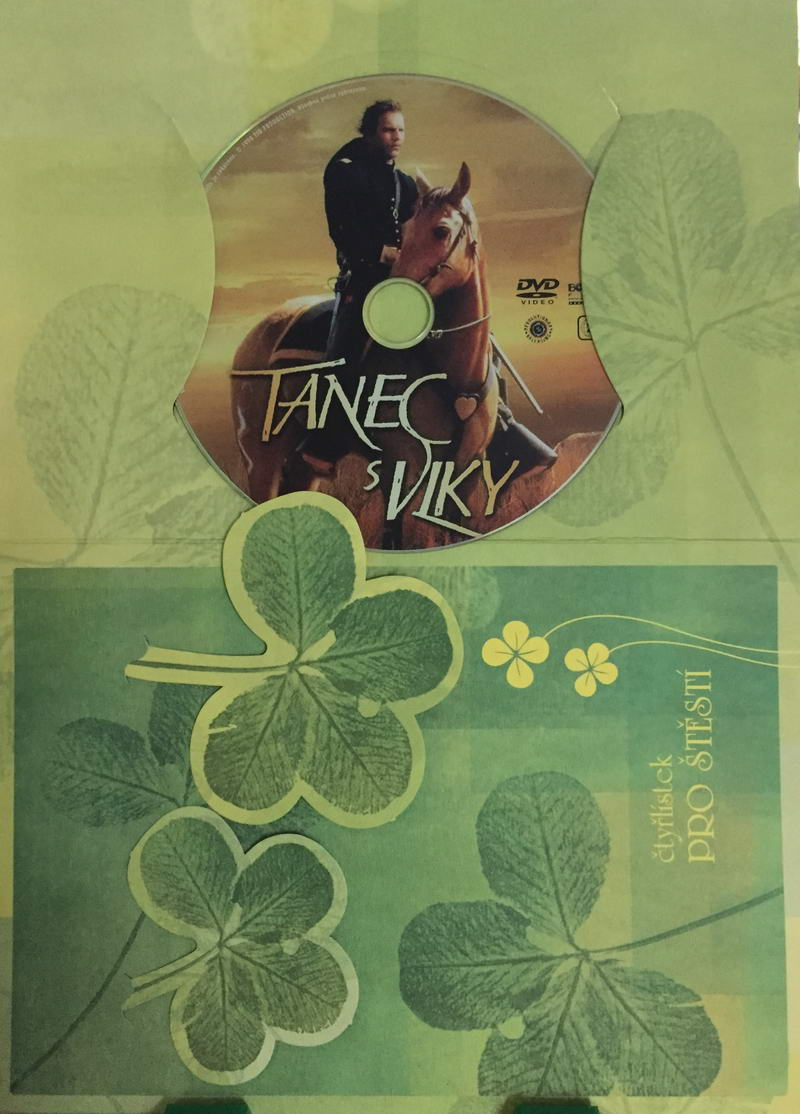 Tanec s vlky - DVD /dárkový obal/
