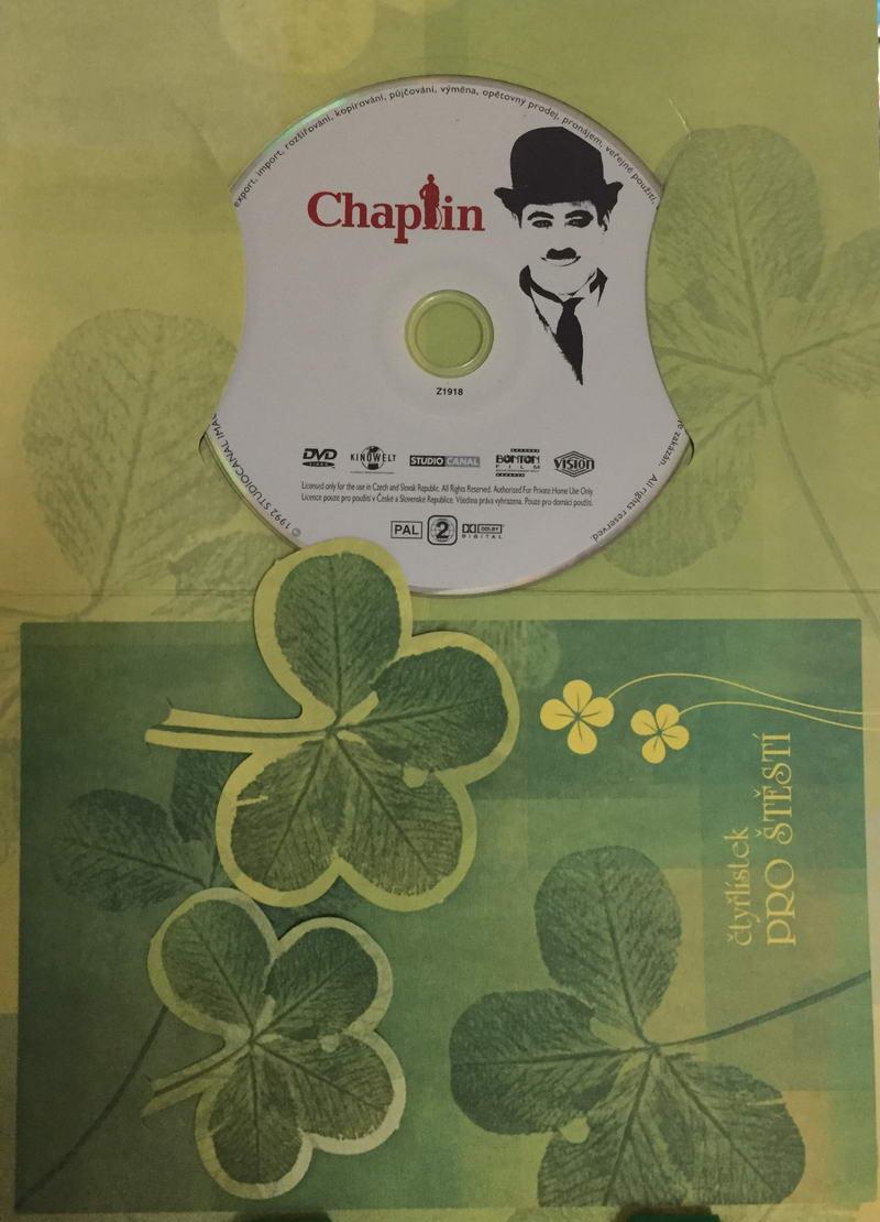 Chaplin - DVD /dárkový obal/