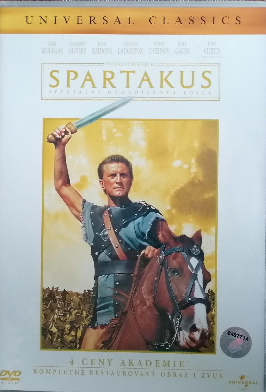 Spartakus - 2 DVD plast