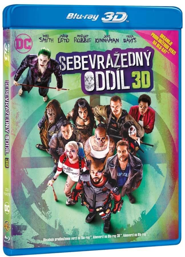 Sebevražedný oddíl 2D+3D BD